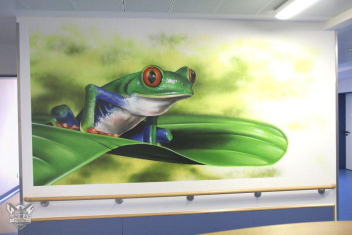 gemalter Frosch