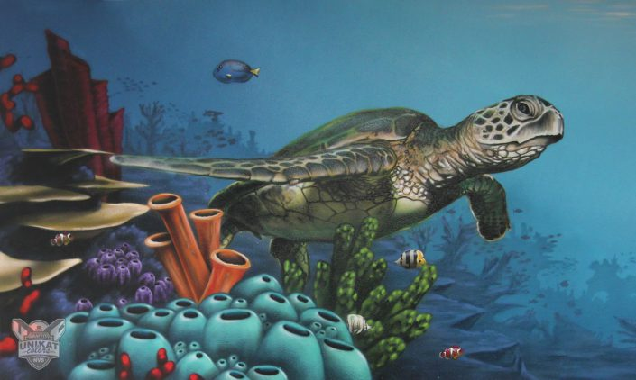 Seaturtel Seeschildkröte
