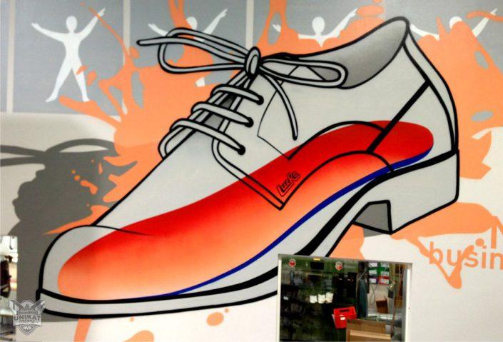 Schuh Graffiti